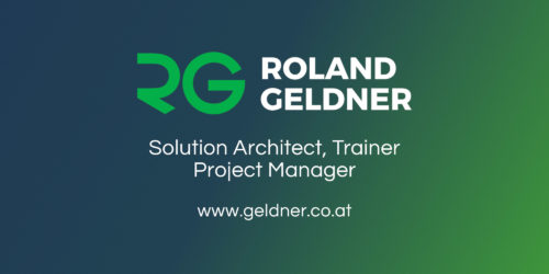 OpenGraph: Twitter • Solution Architect · Trainer · Project Manager • Roland Geldner